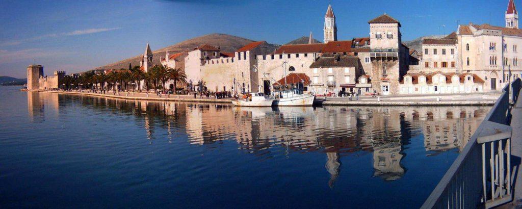 Trogirska riva | Panorama of Trogir